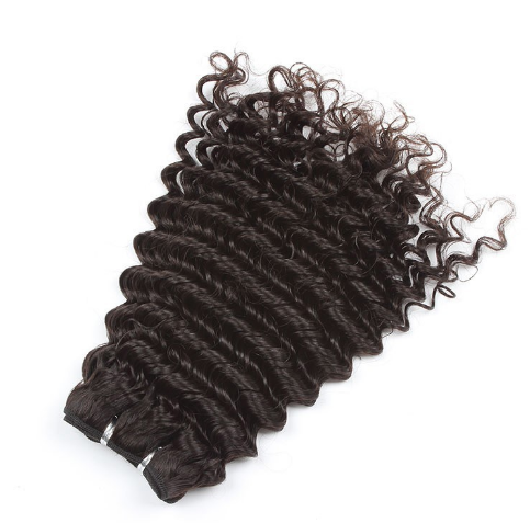 weft 16in natural color deep wave Hair Wefts Weav