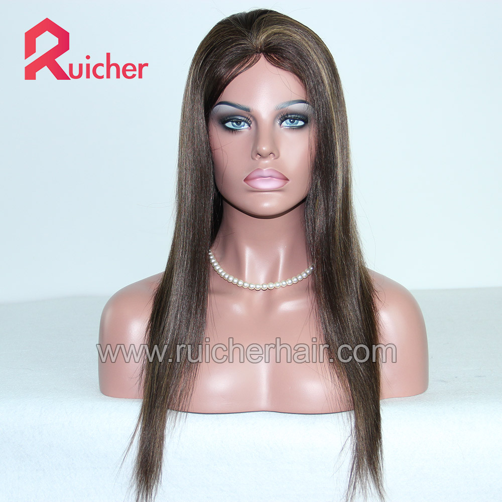 Hair Wigs natural hairline Virgin Chinese 130 Density Unprocessed Glueless Front Lace Wigs