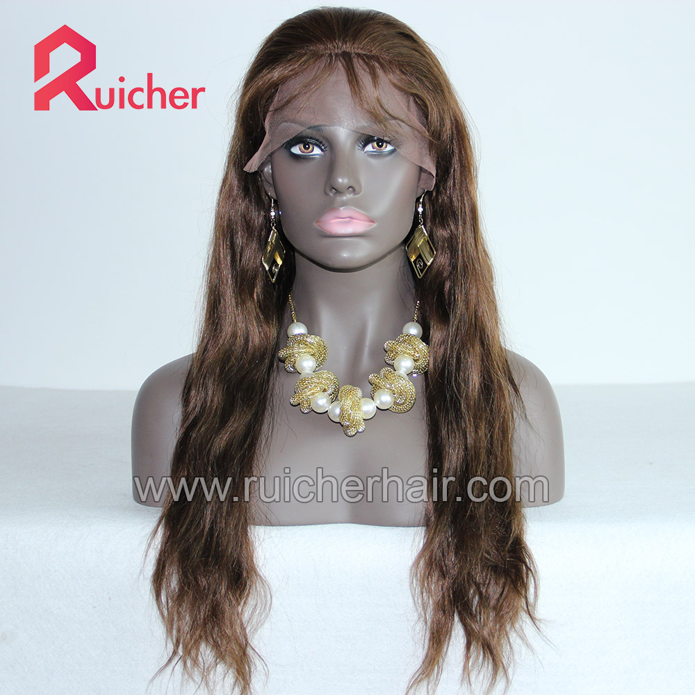 Wholesale remy hd real human hair lace front wig,virgin straight lace front wig