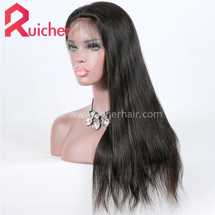 360 Lace Frontal Wig With Baby Hair Brazilian Virgin Lace Front Human Hair Wigs