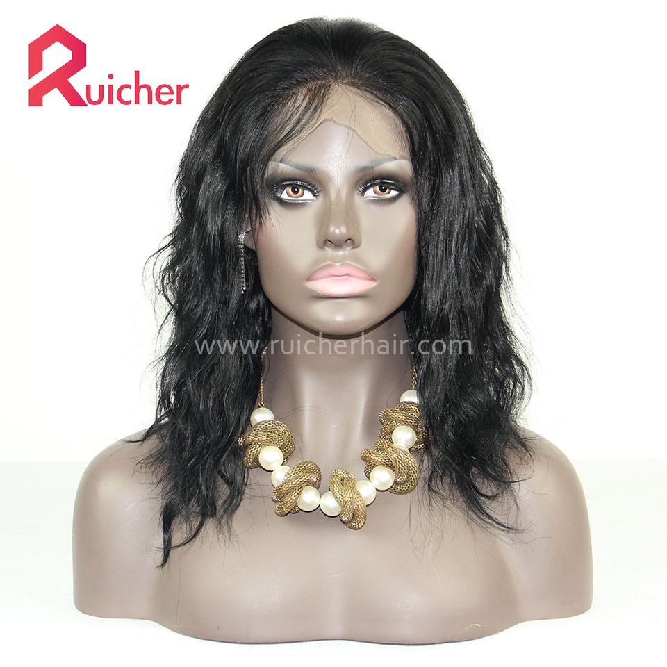 Full LaceHuman Hair Wigs For Black Women Brazilian Virgin Wigs With Baby Hair Lace