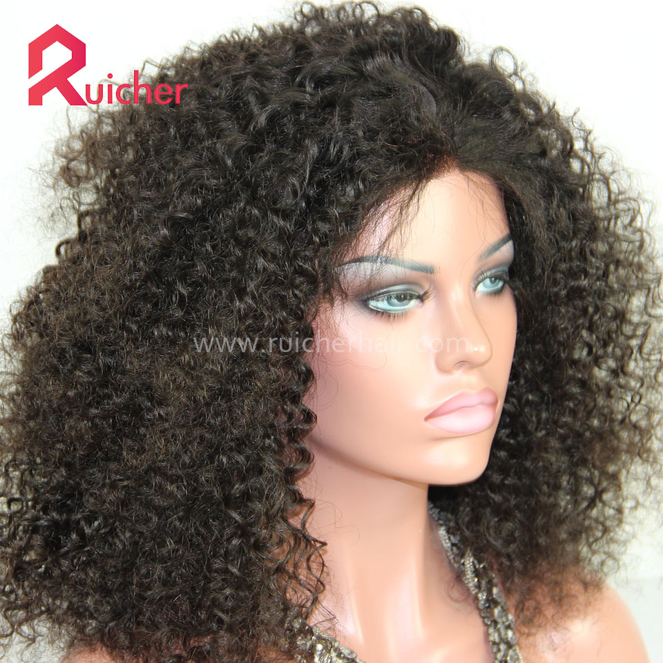 Full Lace Wig Human Hair with Baby Hair Brazilian Virgin Wigs