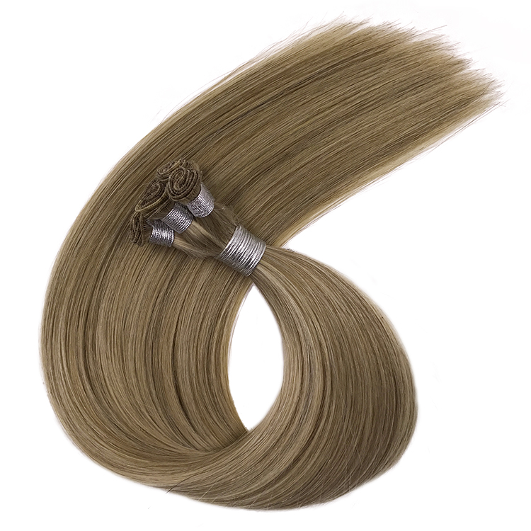 Hair Extension Human hand wefts