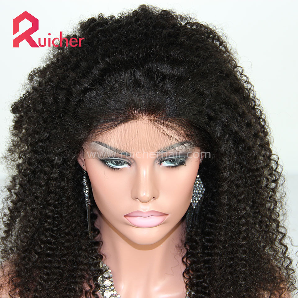 Full Lace Wig With Baby Hair Brazilian Virgin Human Hair Wigs For Women