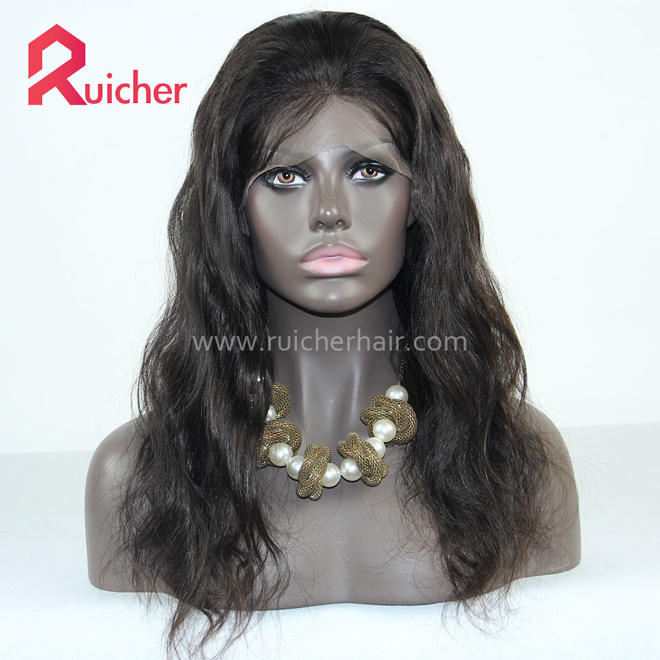Body Wave Full Lace Wig With Baby Hair Human Hair Wigs For Women
