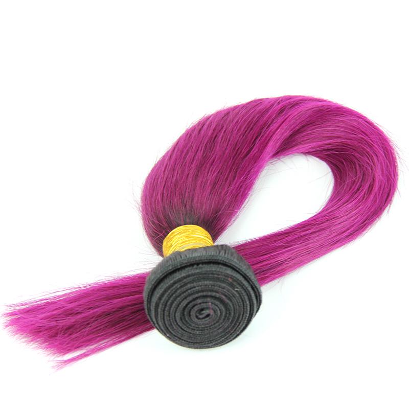 New Beauty Ombre Human Hair Weft Human Hair Weav