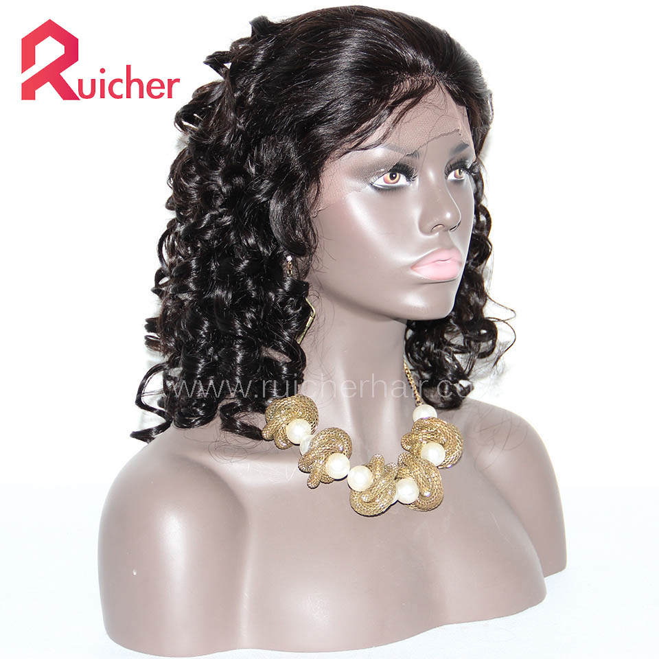 Lace Front Human Hair Wig Big Bottom Curl Wigs For Women