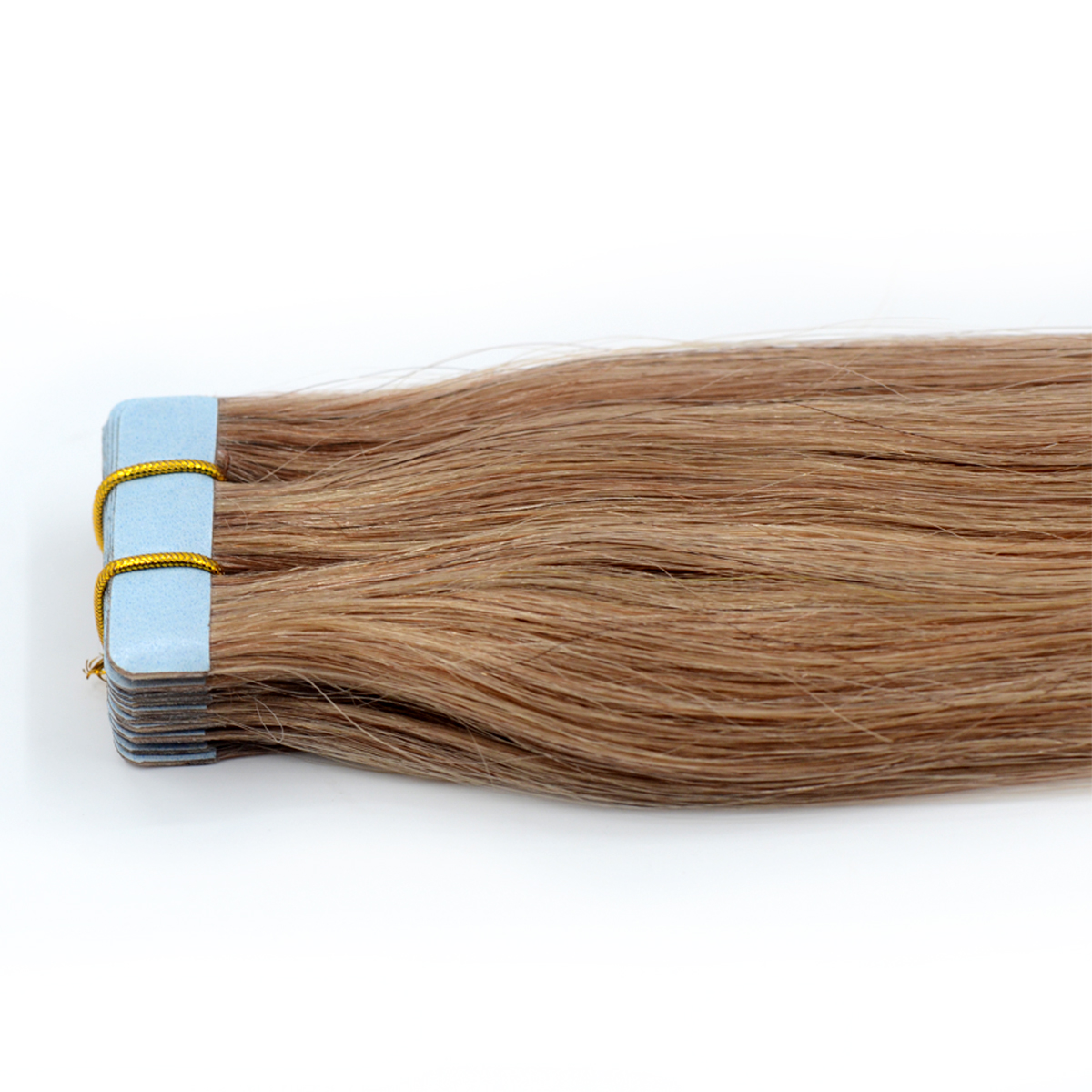 Top Quality #16 Virgin Human Hair Remy Tape In Hair Extensions
