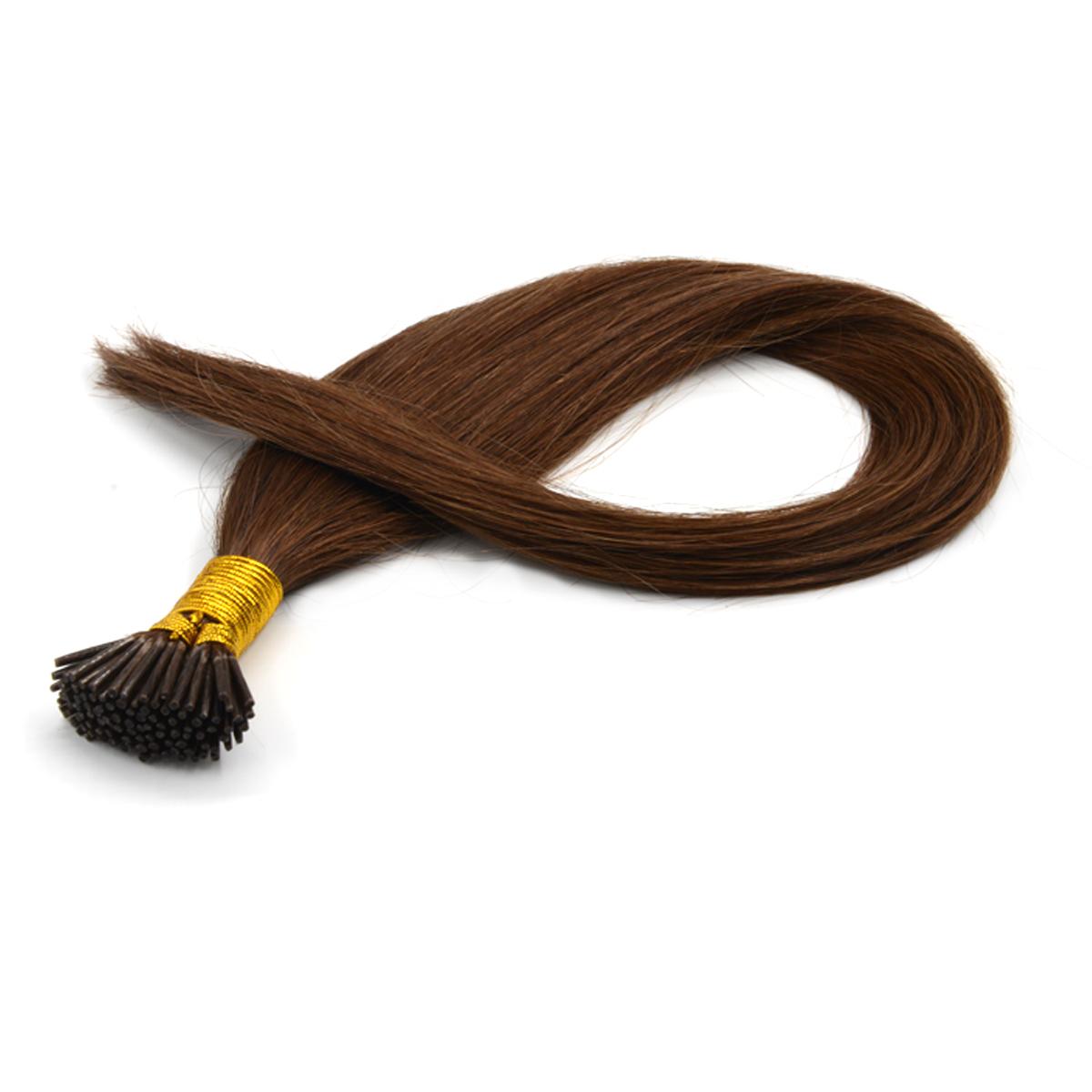 Virgin Brazilian Hair Straight #6 I Tip Hair Extensions