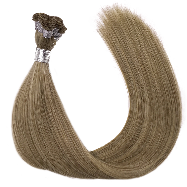 Wholesale European virgin Hair Extension hand wefts
