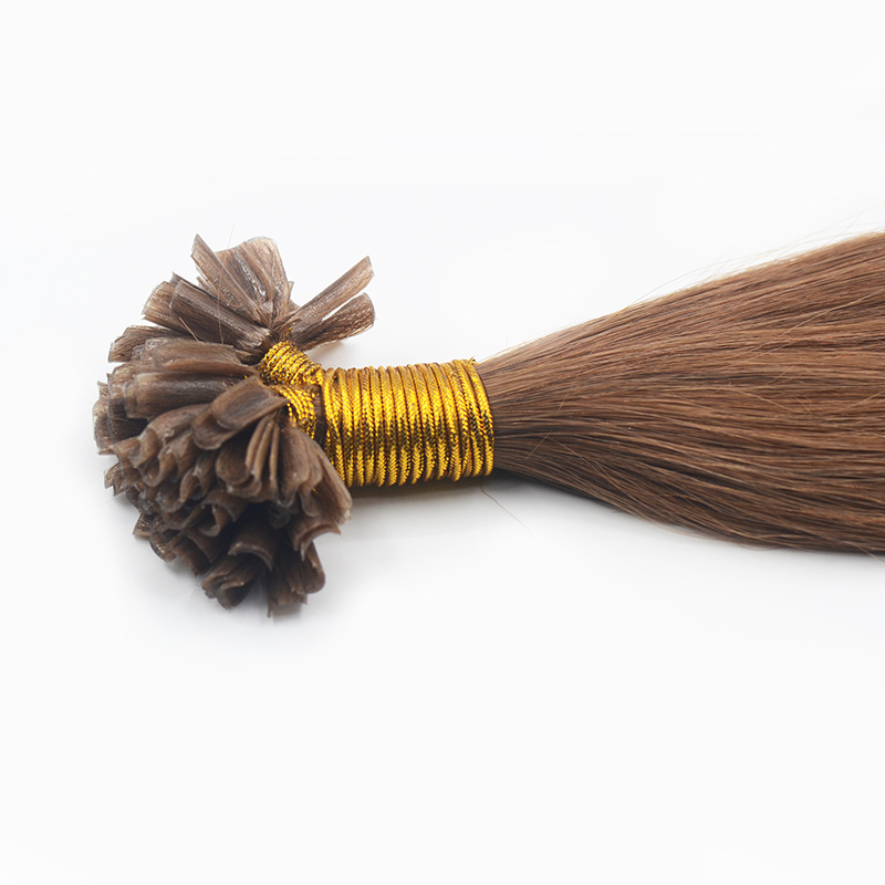 Wholesale Nail Tip Color #12 Brazilian Hair Extensions