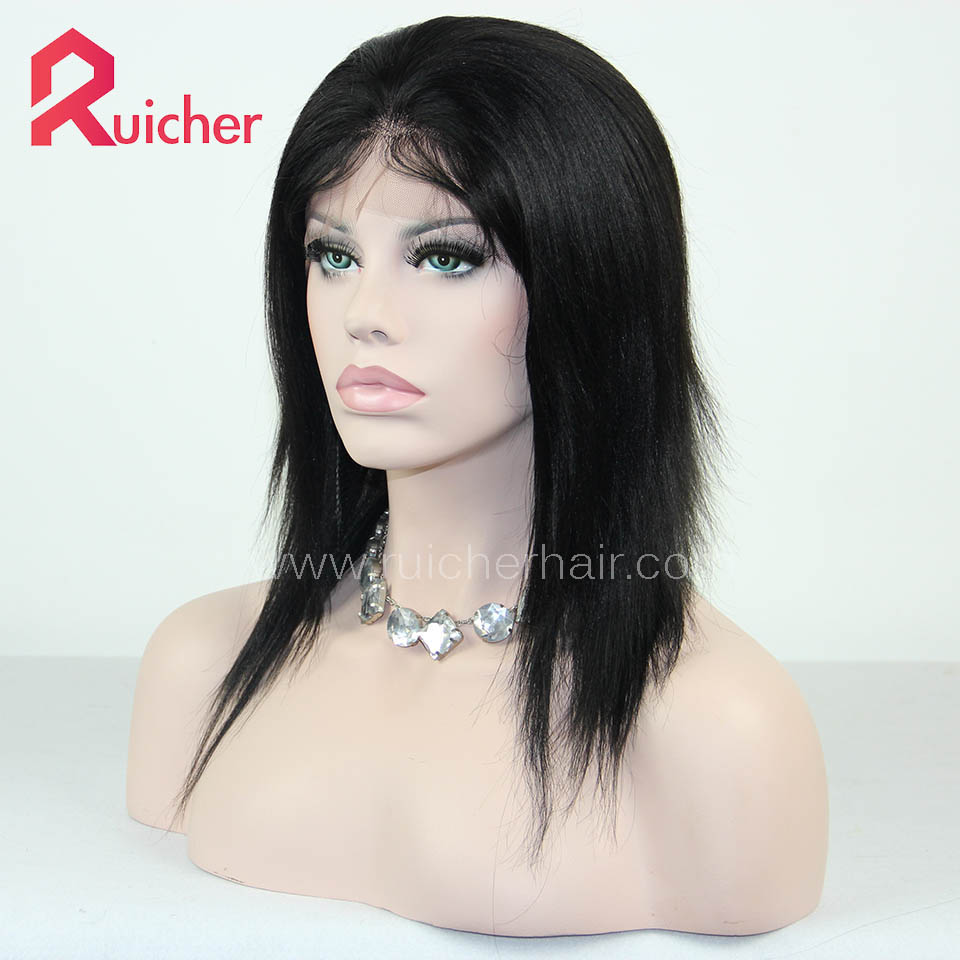 Lace Front Wigs Hair Human Hair Wigs For Black Women Yaki Lace Front Wig