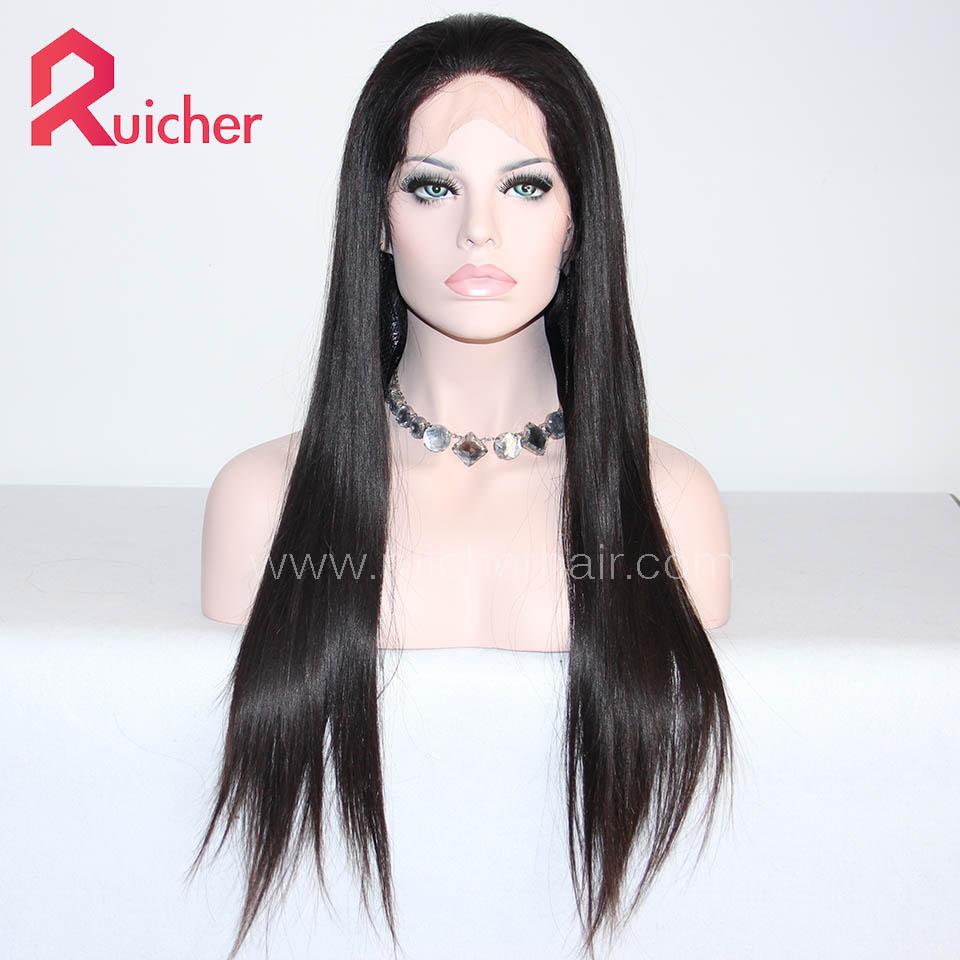 Malaysian Virgin Hair Lace Wigs Straight Hair