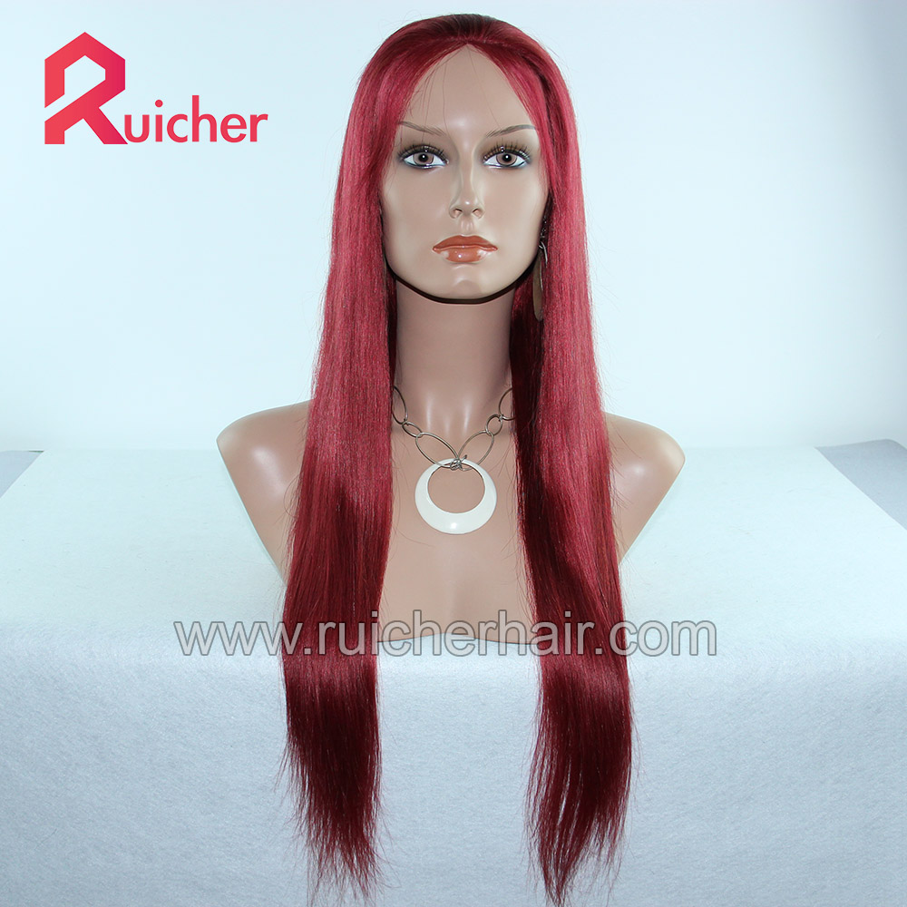 Top Selling Virgin Chinese 22 inch human hair 118M 350# Glueless  wigs