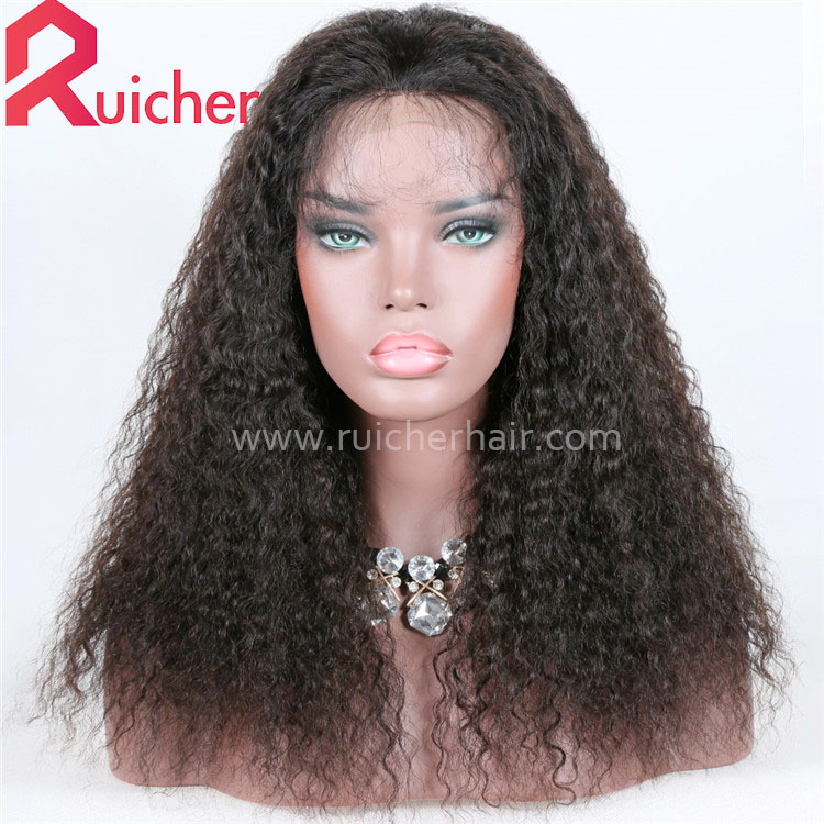 Brazilian Wig Deep Wave 360 Lace Front Human Hair Wigs For Black Women 150% Density