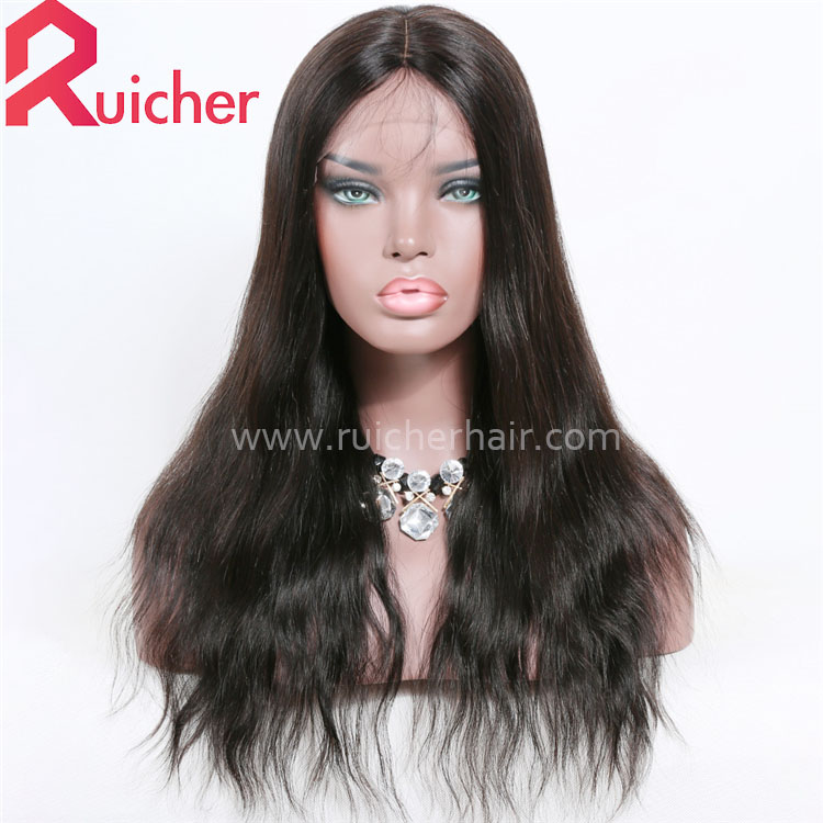 Indian Remy Human Hair 360 Lace Frontal Wig For Black Women Lace Front Wigs